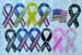 Ribbon Car Magnets Assorted Styles.