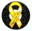 RIBBON CAR MAGNET 15, ''Support Our Troops'' w/Xmas Wreaths