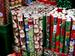 HOLIDAY X'mas/ Christmas Metallic Wrapping Paper