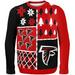 SWEATER Busy Block Ugly SWEATER Atlanta Falcons NFL