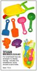 Beach TOY Se t- 3328 Fun colorful beach TOYS set