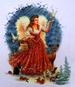 Apparel T-shirt HOLIDAYs Christmas Printed:''Angel''