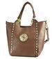 Women HANDBAG Hand Bag SH901 Brown