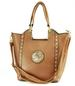 Women HANDBAG Hand Bag SH901 Tan