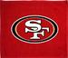 NFL San Francisco 49ers Blue Rally/Golf /Golfer TOWEL
