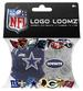 Logo Loomz RUBBER BANDS, Fashion Clips & Charms - NFL Cowboys