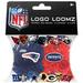 Logo Loomz RUBBER BANDS, Clips & Charms - NFL New England Patriot