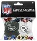 Logo Loomz RUBBER BANDS, Fashion Clip & Charm - NFL New York Jets