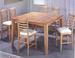 Furniture, 7 Pcs Dinettes Set: 1 Counter Height Table, 6 CHAIRs