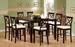 Furniture, 9 Pcs Dinettes Set : 1 Bar Table, 8 Bar CHAIRs