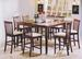 Furniture, 9 Pcs Dinettes Set: 1 Table,  8 Bar CHAIRs