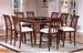 Furniture,  9 pcs Dinettes Set: 1Counter Height Table, 8 CHAIR
