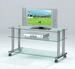 Furniture, Chests 2058: TV Stand Glass Top