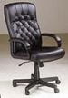 Furniture, Genuine Leather Executive CHAIR