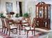 Furniture, 8 Pcs Dinettes Set: 1 Table, 6 CHAIRs, 1 Buffet/Hutch