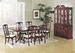 Furniture, 8 Pcs Dinettes Set: 1 Table, 6 CHAIRs, 1 Hutch/Buffet