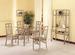 Furniture, 6 Pcs Dinettes Set: 1 Table, 4 CHAIRs,  1 Baker's Rack