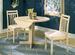 Furniture, 3 Pcs Table Set: 1 Table,  2 Splat Back CHAIRs
