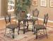 Furniture,Dinettes 6740:1 Table,4 Side CHAIRs