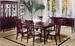 Furniture,Dinettes 7080:Leg Table,4 Side CHAIRs,2 Arm CHAIRs,Side