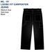 Men's Dress  Pants  loose fit  Carrenter  JEANS