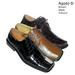 Men's  DRESS Shoes With UP upper.