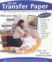 Inkjet Transfer Paper 8.5'' x 11'' for Light Color.
