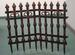 HOLIDAY Halloween  Cemetary Fences - 2 Pk
