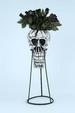 Holiday Halloween  Skull VASE