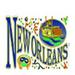 Apparel T-shirt Cities Printed:''NEW Orleans/ The Big Easy''