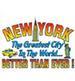 Apparel T-shirt Printed:''NEW York City, NY /Better than eyer!''