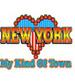 Apparel T-shirt Printed:''NEW York City, NY/ My Kind of Town''
