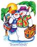 Apparel T-shirts HOLIDAYs Christmas Day Printed:''Snowbirds ''