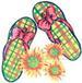 Apparel T-SHIRTs Resort Printed :''Flippy Flops''
