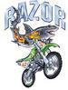 Apparel T-shirt Streetwear Aquatic Shark Printed:''RAZOR''