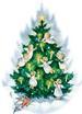 Apparel T-shirts HOLIDAYs Christmas Day Printed:''Angel Tree''