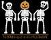 Apparel T-shirts HOLIDAYs Halloween Printed:''No Bones''
