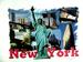 Apparel T-shirt Cities The Statue of Liberty Printed:''NEW York''