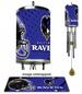 WIND CHIME - NFL Baltimore Ravens