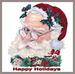 Apparel T-shirt HOLIDAYs Christmas Day Printed:''Happy HOLIDAY''