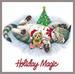 Apparel T-shirt HOLIDAYs Christmas Day Printed:''HOLIDAY Magic''