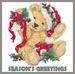 Apparel T-shirt HOLIDAYs Christmas Day Printed:''Fall Winter Bear''