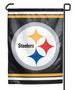 Garden Flag - NFL Pittsburgh Steelers 12'' x 16''