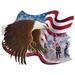 Apparel T-shirts Fall & HOLIDAY Printed:''Eagle Freedom''