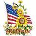 Apparel T-shirts Fall & HOLIDAY Printed:''Freedom''