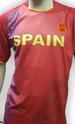 Polyester Soccer SHIRTs - Spain