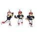 Mini sports FIGURINE Ornaments 3-Packs Set - NFL Buffalo Bills