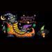 T-Shirts HOLIDAY & Seasonal Halloween Printed: ''Purrfectly Scary''