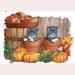 HOLIDAY & Seasonal Halloween Printed: ''Little Punkins' Cats''