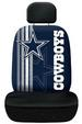 Rally Seat Cover & Plain Head Rest Cover - DALLAS COWBOYS NFL